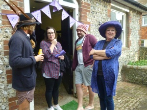 Mad Hatters  tea party 26 sept 15 027